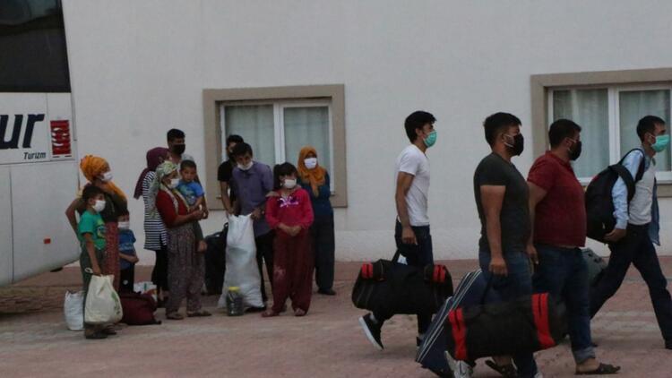 KKTC'den getirilen 173 tarım işçisi, Adıyaman'da karantinaya alındı