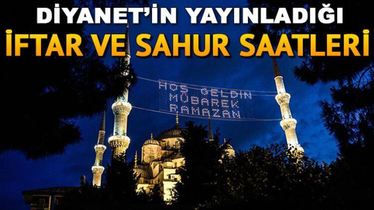 Tüm illerin iftar saati 16 Mayıs 2020: İftar vakti ezan ne zaman okunacak, iftar saati kaçta? İstanbul Ankara İzmir İmsakiye