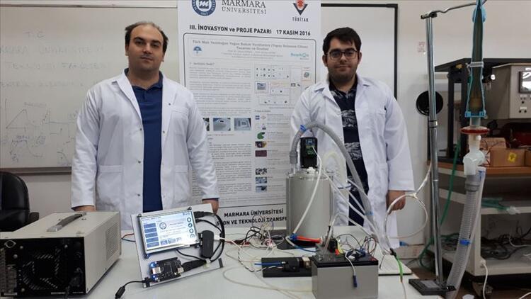 Marmara Üniversitesi'nde yerli taşınabilir solunum cihazı üretildi