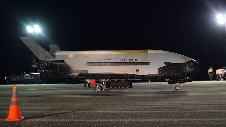 ABD, dev uçağını uzaya yolladı