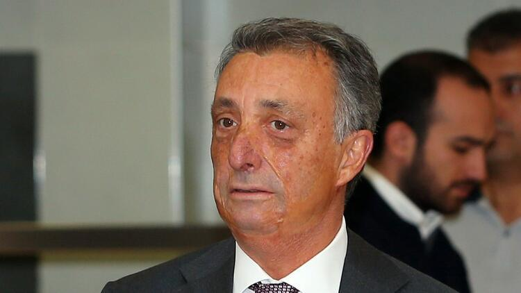Beşiktaş Başkanı Ahmet Nur Çebi'den sevindiren haber