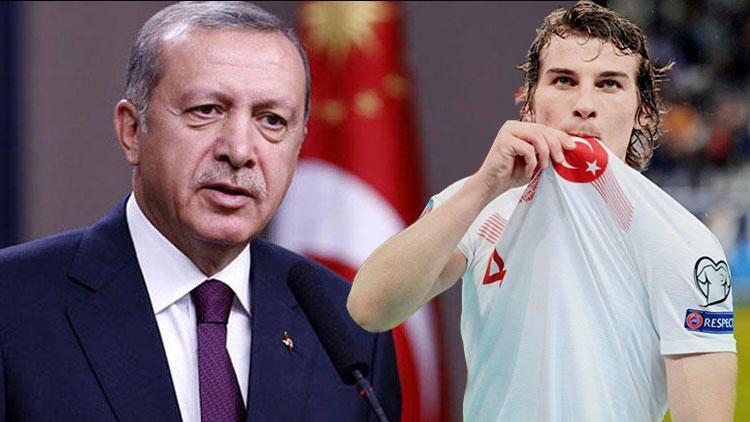 Cumhurbaşkanı Erdoğan'dan Çağlar Söyüncü'ye transfer sorusu!