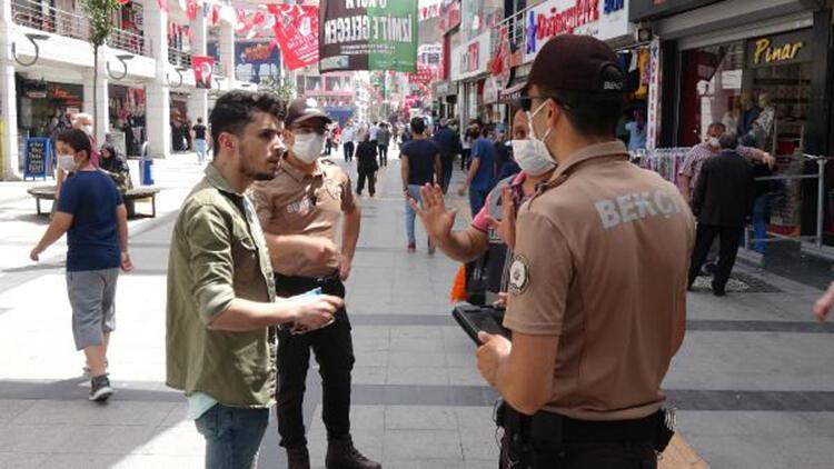 Kocaeli'de polisten zorunlu maske denetimi