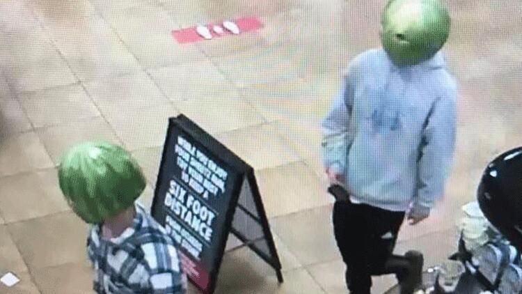 ABD'de karpuz maskesiyle soygun