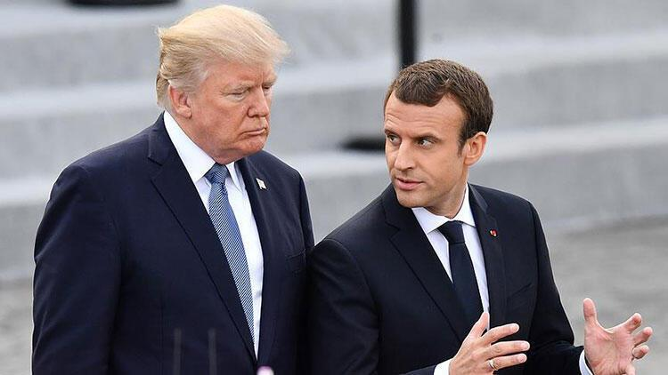 Trump ve Macron'dan 'Libya'daki gerginliğin bir an önce azaltılması' vurgusu