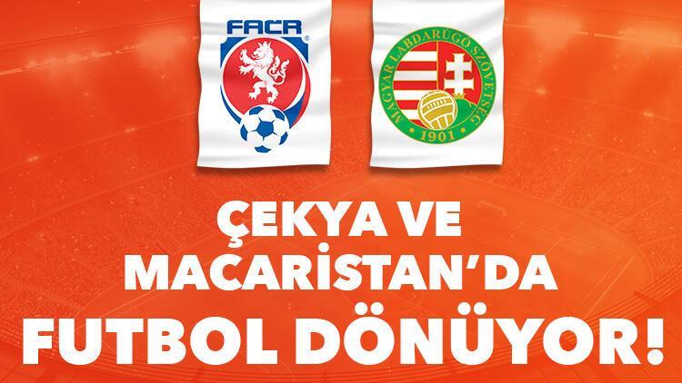 Çekya ve Macaristan'da futbol dönüyor! Karşılaşmalar iddaa bülteninde...