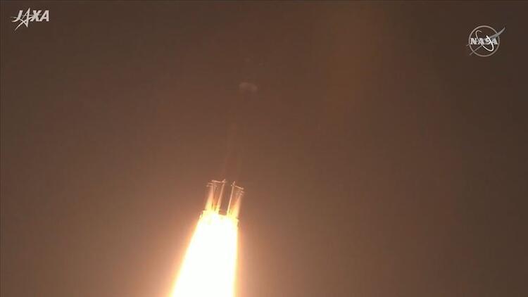 Japon uzay mekiği 'Kounotori' son görevi için fırlatıldı