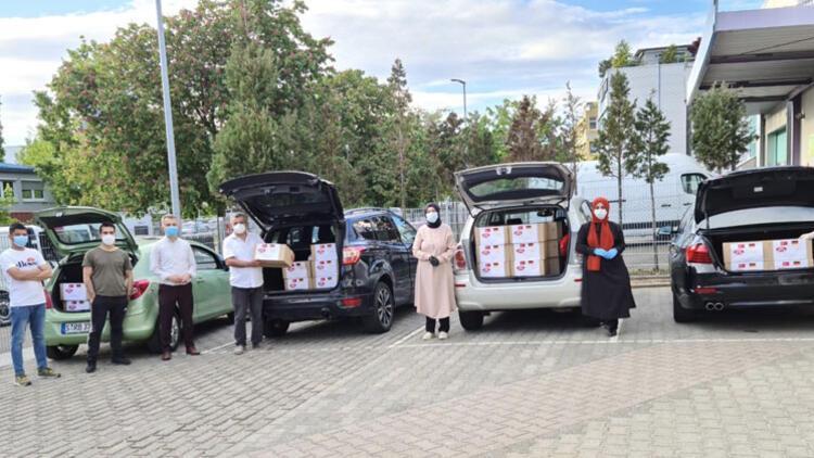 YTB'den sığınmacılara bayram hediyesi