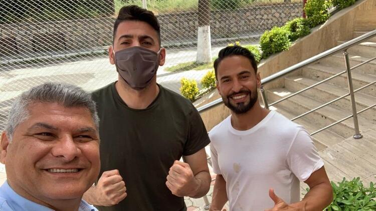 Mirkan Aydın ve Helder Barbosa, Türkiye'ye döndü!