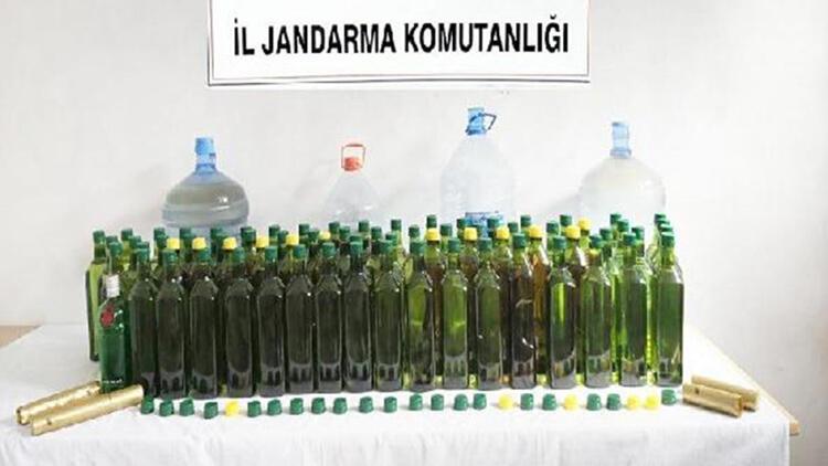 Balıkesir'de sahte içki operasyonu: 3 gözaltı