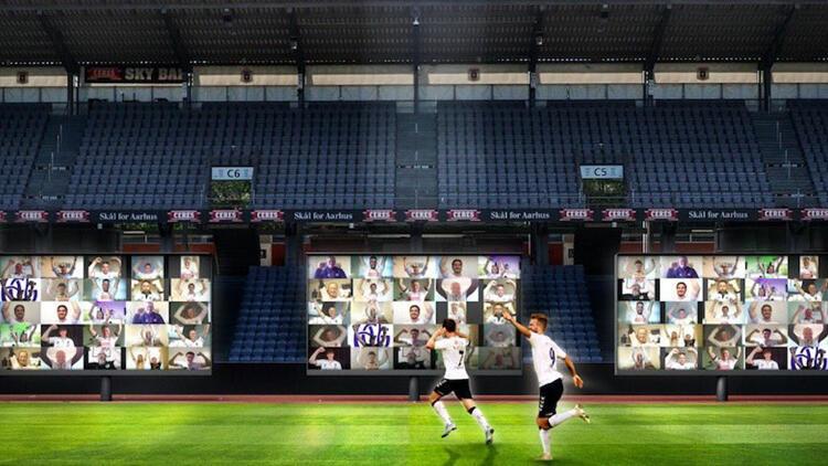 """Danimarka kulübünden seyircisiz maçlara """"sanal tribün"""" çözümü!"""