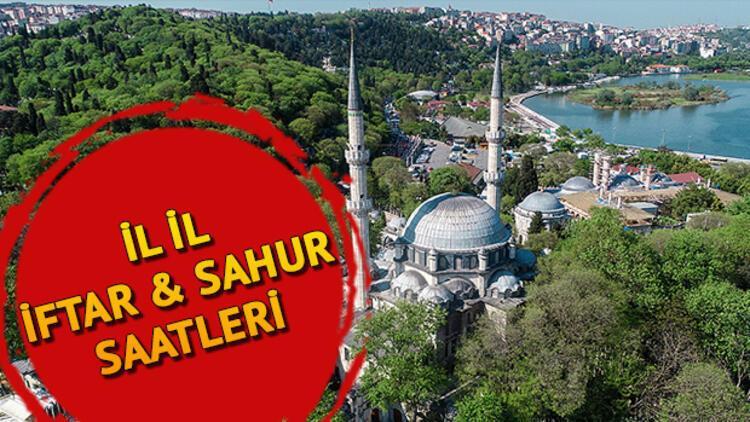 İftar saatleri Ramazan İmsakiyesi: İftar vakti ezan ne zaman okunacak? İstanbul, Ankara, İzmir tüm illerin iftar vakitleri