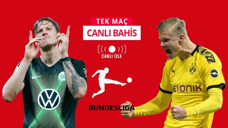 Herkesin gözü Bundesliga'daki bu maçta! Wolfsburg'a karşı Dortmund'un iddaa oranı...