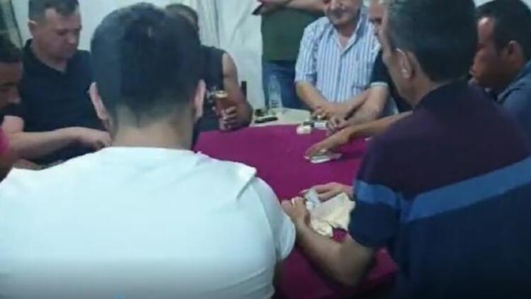 Kumar oynarken yakalandılar, 57 bin lira para cezası uygulandı