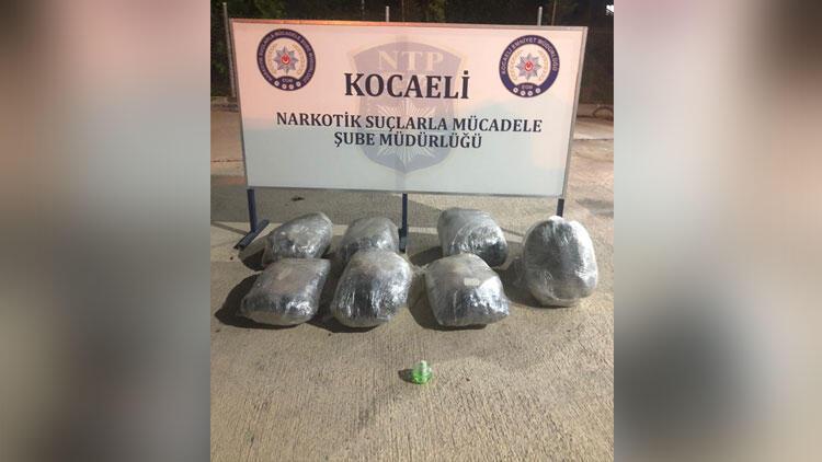 TIR'da çok miktarda esrar ele geçirildi: 2 gözaltı