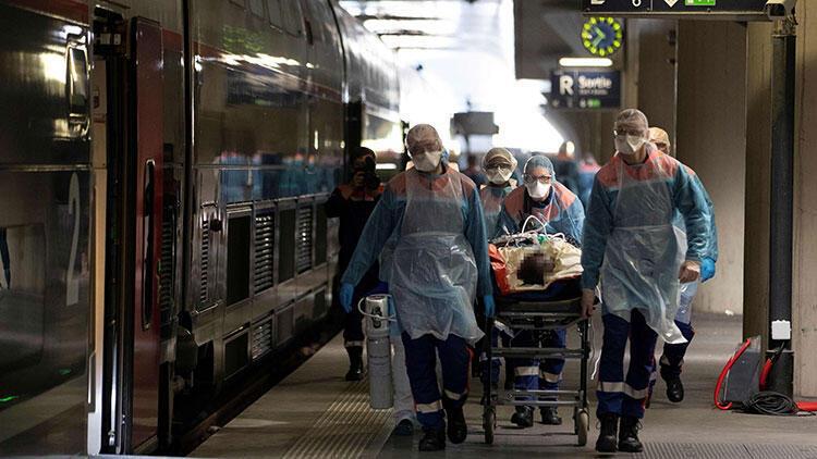 Fransa'da günlük Kovid-19 kaynaklı ölümlerin sayısı açıklandı