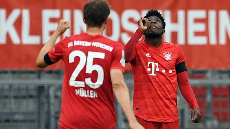 Bayern Münih 5-2 Eintracht Frankfurt