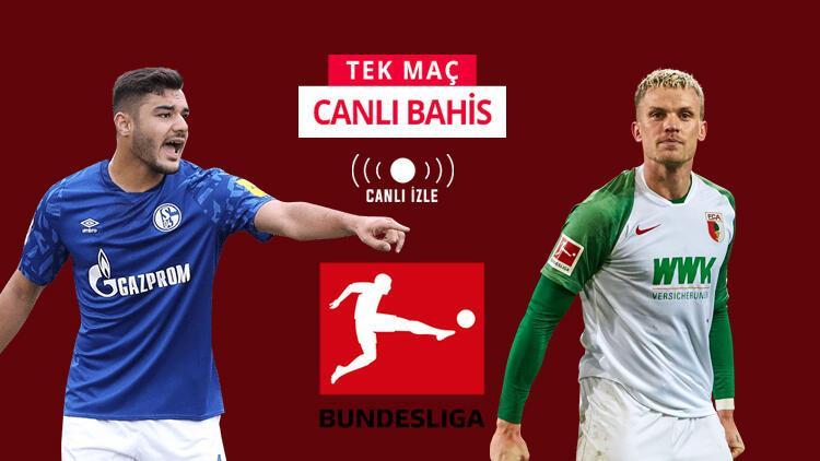 Ozan Kabak ilk 11'e dönüyor mu? Schalke'nin Augsburg önünde iddaa oranı...
