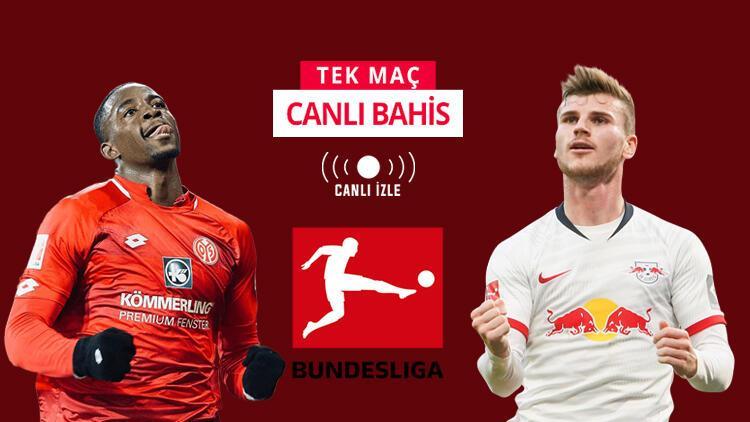 RB Leipzig geçtiğimiz haftayı telafi peşinde! Mainz maçını kazanırlarsa iddaa'da...