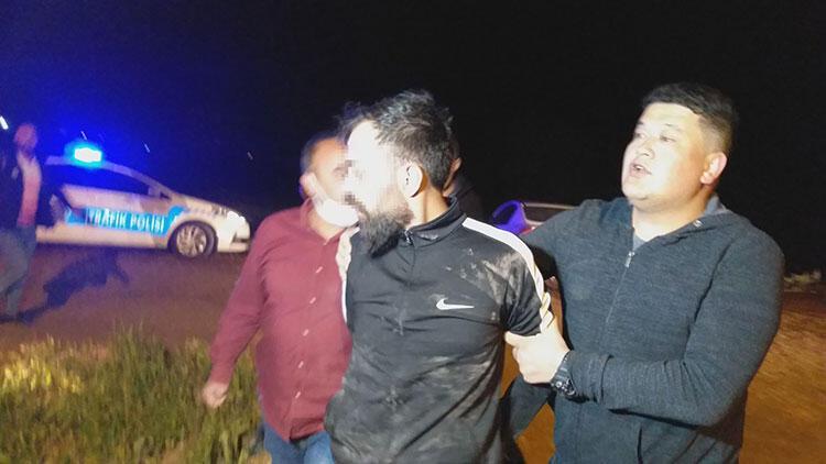 Polisten kaçarken kaza yaptılar, ikisi de sabıkalı çıktı