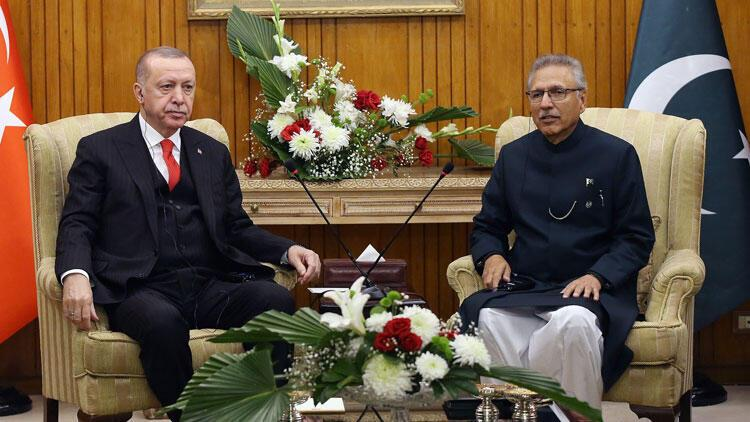 Erdoğan, Pakistan Cumhurbaşkanı Arif Alvi ile telefonda görüştü