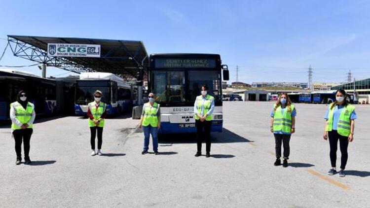 EGO'nun 10 kadın şoförü, trafiğe çıkmak için gün sayıyor