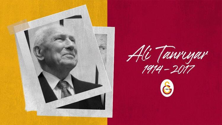 Galatasaray, eski başkanlardan Ali Tanrıyar'ı andı