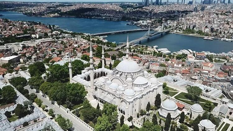 Süleymaniye Camii dezenfekte edildi