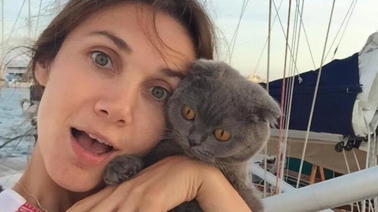 Yasemin Hadivent, kedisi için diziden vazgeçti