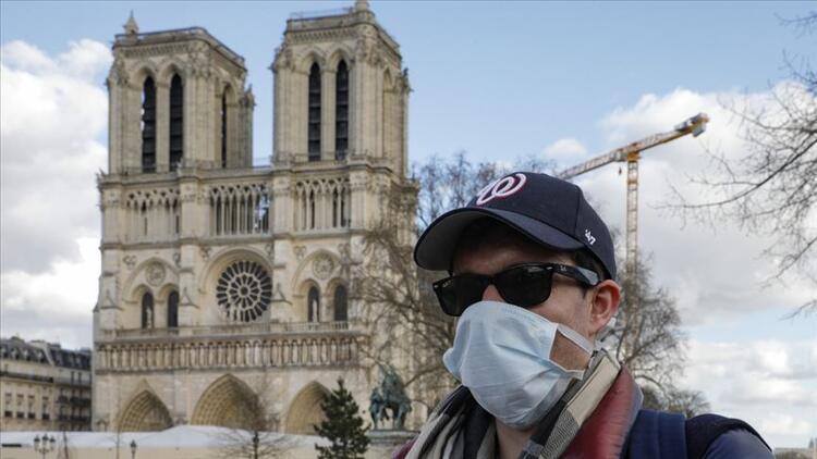 Fransa'da günlük Kovid-19 kaynaklı ölümlerin sayısında son durum