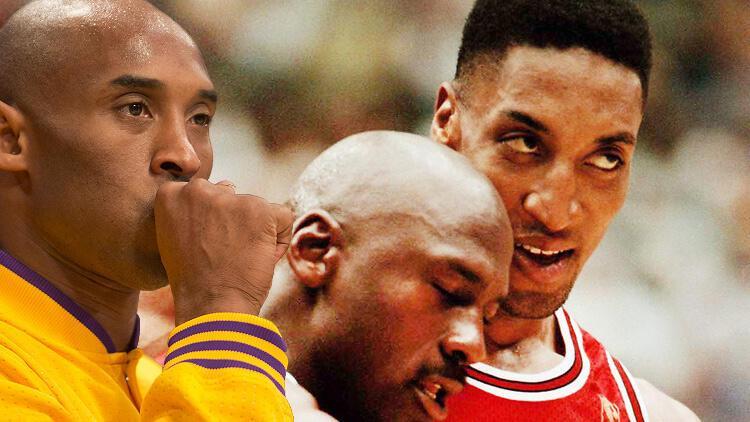 "Scottie Pippen: ""Kobe Bryant Michael Jordan'dan daha iyiydi"""