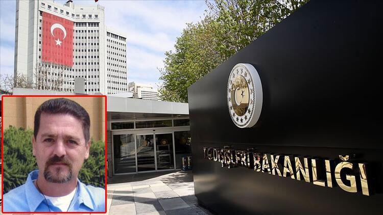 Dışişleri: Terörist Sasunyan'ın şartlı tahliye talebinin reddedilmesi memnuniyetle karşılandı