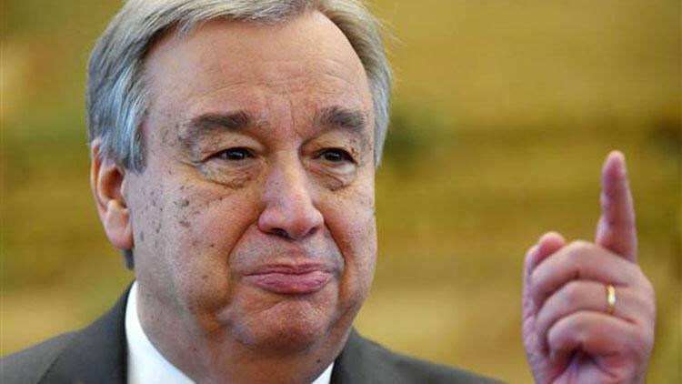 """BM Genel Sektereri Guterres: """"Küresel ateşkes çağrılarım somut eyleme dönüşmedi"""""""