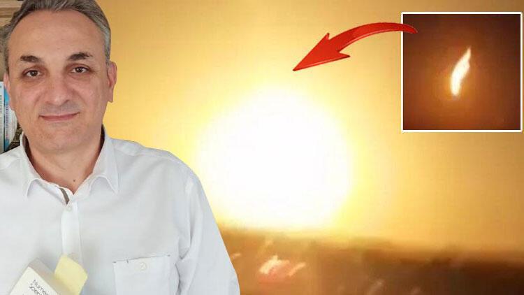 Profesörden 'meteor' açıklaması: Parçalar büyükse bomba etkisi yapar