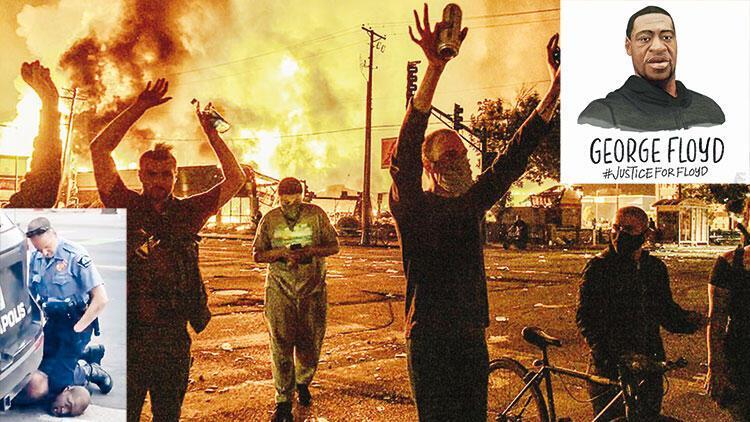 Amerika alev alev! Polis şiddetinden sonra yağmacılar devrede
