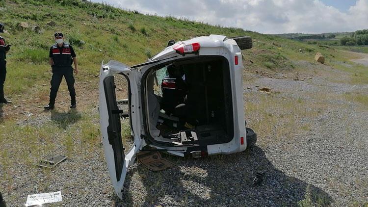 Nevşehir'de feci kaza! Araç takla attı, ölü ve yaralılar var