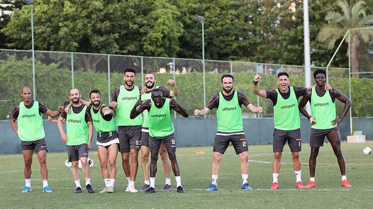 Aytemiz Alanyaspor, Medipol Başakşehir maçı hazırlıklarını sürdürdü