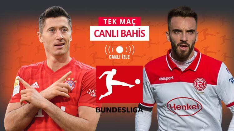 Bayern'in galibiyetine iddaa'da oran açılmadı! Düsseldorf'un son 6 lig maçı...