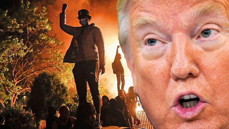 Twitter'dan Trump'ın o sözlerine sansür: 'Yağma başlarsa ateş açarız'