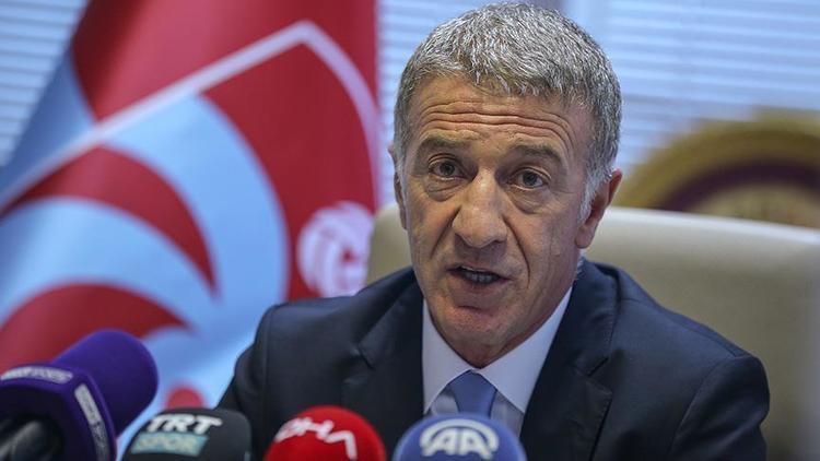 Trabzonspor Başkanı Ahmet Ağaoğlu golf aracını hibe etti!