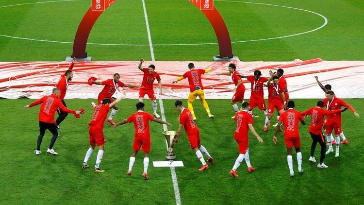 Avusturya Kupası, Austria Lustenau'yu 5-0 yenen Salzburg'un!