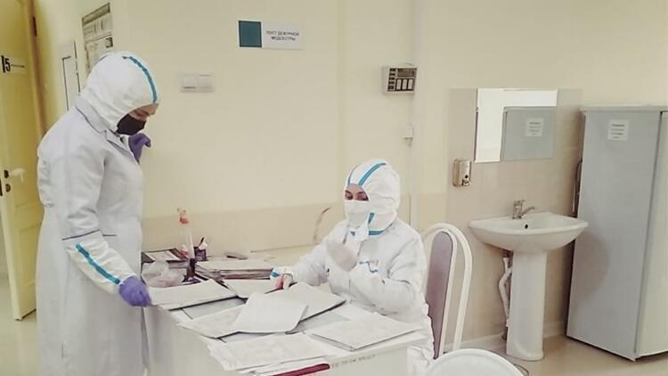 Rusya'da corona virüs vaka sayısı 400 bine yaklaştı