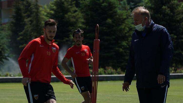 Kayserispor'da Fenerbahçe hazırlıkları sürüyor