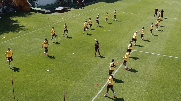 Galatasaray'da Rizespor hazırlıkları sürüyor