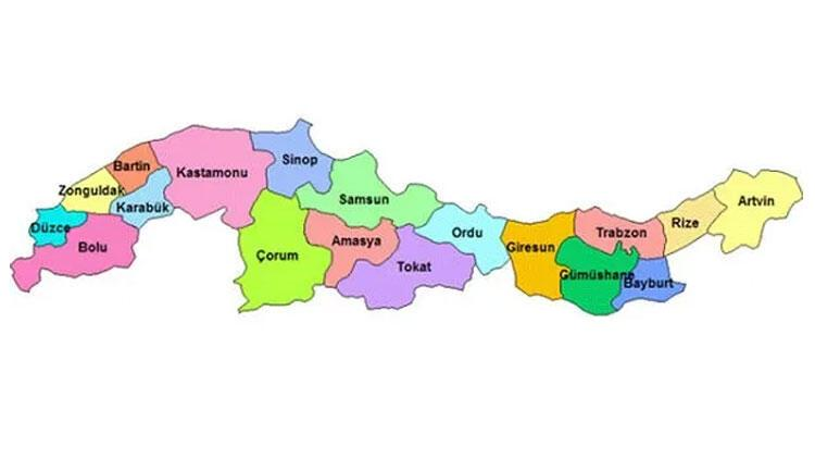Karadeniz Bölgesi illeri nelerdir? Karadeniz Bölgesinin özellikleri, iklimi, dağları, ovaları ve bitki örtüsü