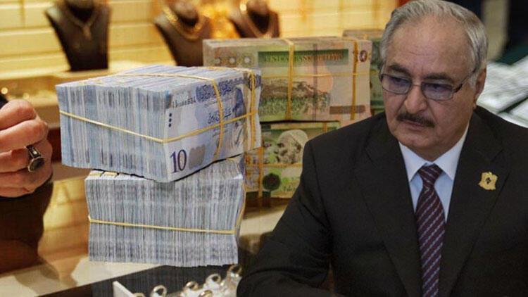 Hafter'in oyunu bozuldu! Sahte banknotlar ele geçirildi