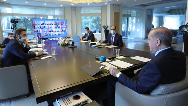 Erdoğan ve yakın ekibi karantinayı nasıl geçirdi?