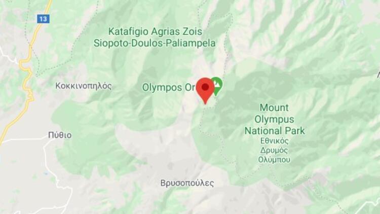 Olimpos Dağı nerede? Olimpos Dağı yüksekliği kaç metre? Olimpos Dağı hakkında bilgi