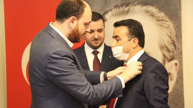 Tavşanlı Belde Belediye Başkanı,AK Parti'ye geçti