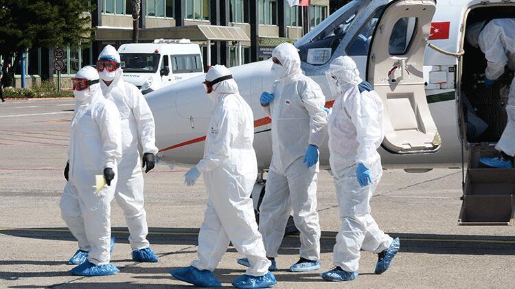 Rusya'daki koronavirüs hastası Türk, ambulans uçakla getirildi